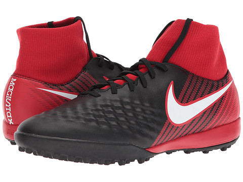 Incaltaminte Barbati Nike Magista Onda II Dynamic Fit TF BlackWhiteUniversity Red