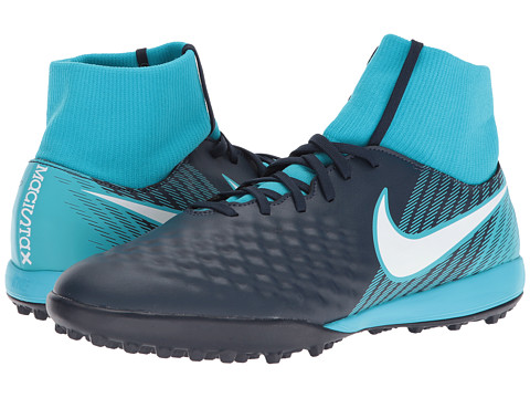 Incaltaminte Barbati Nike Magista Onda II Dynamic Fit TF ObsidianWhiteGamma BlueGlacier Blue