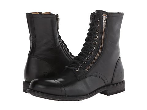 Incaltaminte Barbati Frye Tyler Double Zip Black Soft Vintage Leather