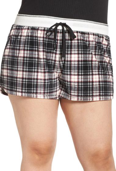 Imbracaminte Femei PJ SALVAGE Velour Shorts Plus Size BLACK