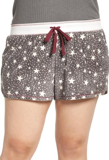 Imbracaminte Femei PJ SALVAGE Velour Shorts Plus Size HEATHER GREY