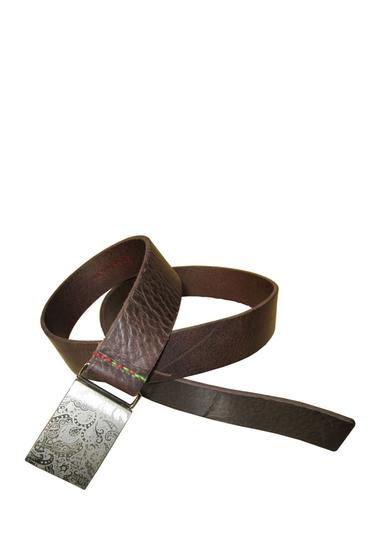 Accesorii Barbati Robert Graham Sawtell Leather Belt BROWN