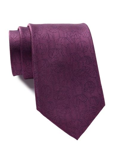 Accesorii Barbati Calvin Klein Tulip Silk Tie FUSCHIA