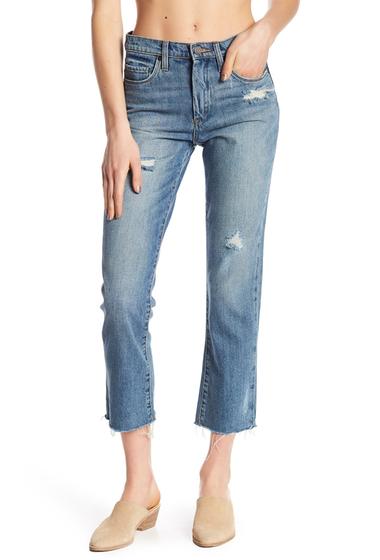 Imbracaminte Femei BLANKNYC Denim Distressed Frayed Hem Jeans WIN BOX