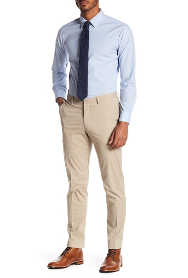 Imbracaminte Barbati 14th Union Stretch Solid Trouser KHAKI