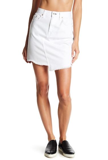 Imbracaminte Femei Rag Bone Dive Denim Skirt WHITE