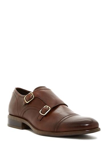 Incaltaminte Barbati Kenneth Cole New York Design 10614 Monk Strap Shoe COGNAC
