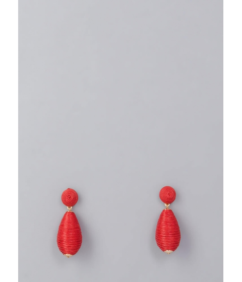 Bijuterii Femei CheapChic Gimme Hive Thread-wrapped Earrings Red