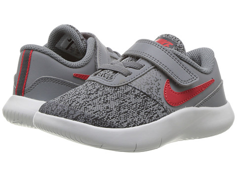 Incaltaminte Baieti Nike Flex Contact (InfantToddler) Cool GreyUniversity RedAnthracite