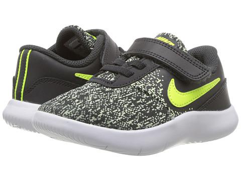 Incaltaminte Baieti Nike Flex Contact (InfantToddler) AnthraciteVoltBarely VoltWhite