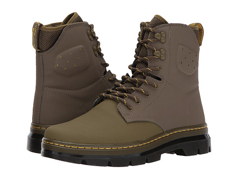 Incaltaminte Femei Dr Martens Quinton Tall Boot Mid Olive AjaxMid Olive 19-0622 Tpx Synthetic Nubuck