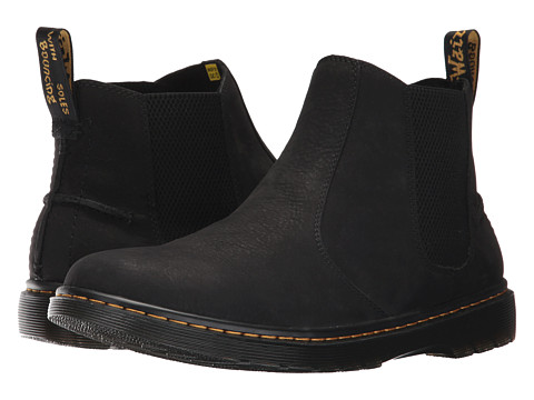Incaltaminte Barbati Dr Martens Lyme Chelsea Boot Black Slippery Wp