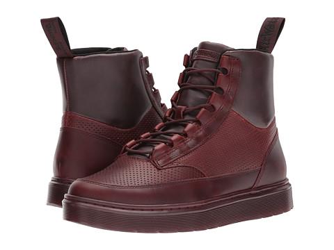 Incaltaminte Barbati Dr Martens Kamar Sneaker Boot Oxblood BrandoOxblood PUOxblood Perf Brando