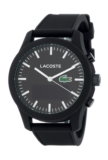 Ceasuri Barbati Lacoste Mens L1212 Contact Bluetooth Smart Bracelet Watch BLACK