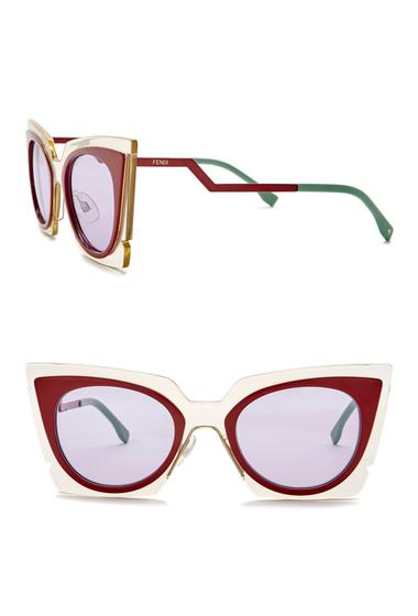 Ochelari Femei Fendi 49mm Modified Butterfly Sunglasses 0IC5-Y4