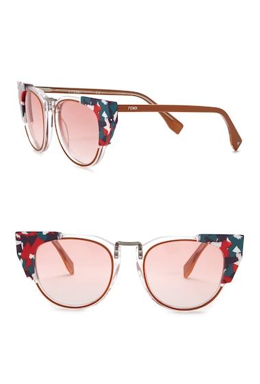 Ochelari Femei Fendi Womens 50mm Modified Cat Eye Sunglasses 0RCI-N8