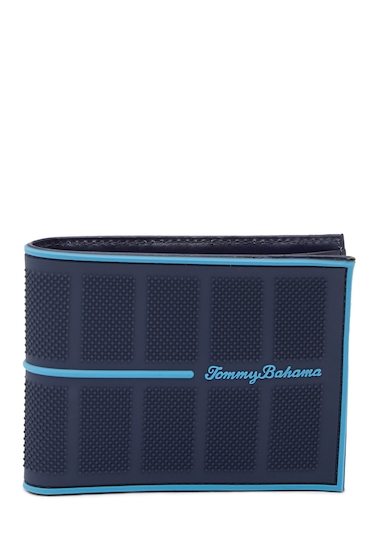 Accesorii Barbati Tommy Bahama Silicone Slimfold Wallet NAVY