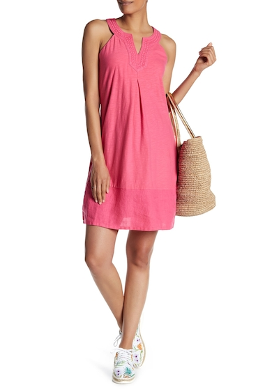 Imbracaminte Femei Tommy Bahama Arden Embroidered Sleeveless Dress RASPBERRY