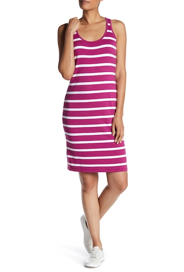Imbracaminte Femei Tommy Bahama Pickford Stripe Sleeveless Dress WILD ASTER
