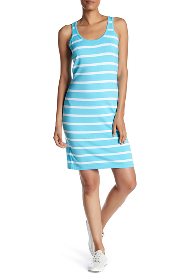 Imbracaminte Femei Tommy Bahama Pickford Stripe Sleeveless Dress CLEAR OCEA