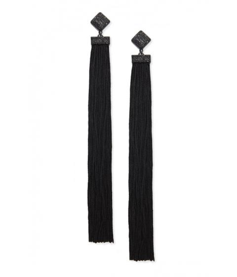 Bijuterii Femei Forever21 Tassel Duster Earrings BLACK