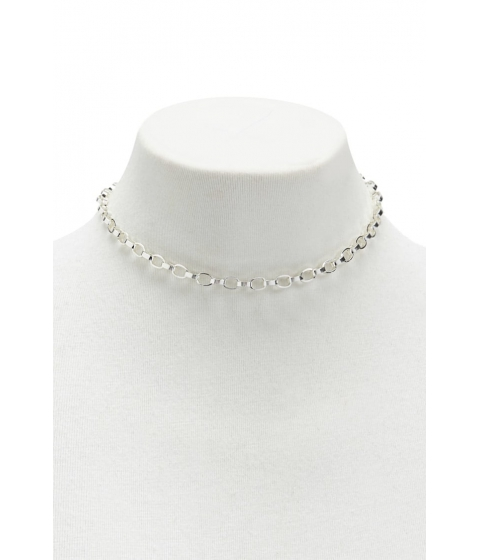 Bijuterii Femei Forever21 Rolo Chain Necklace SILVER