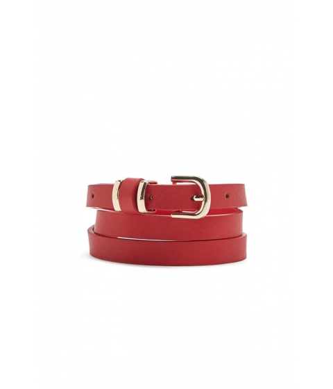 Accesorii Femei Forever21 Faux Leather Belt RED