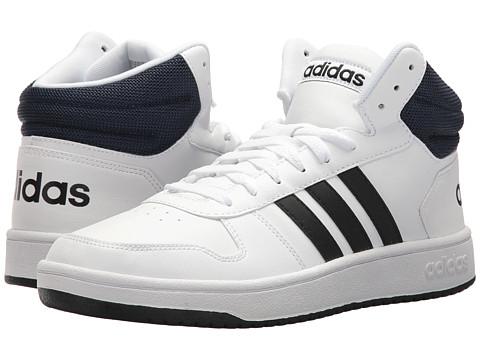 Incaltaminte Barbati adidas VS Hoops Mid 20 WhiteBlackNavy