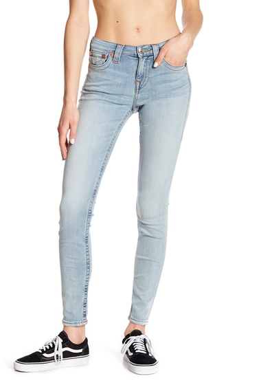 Imbracaminte Femei True Religion High Rise Super Skinny Jeans DIAL CHLL