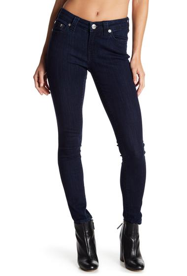 Imbracaminte Femei True Religion Rhinestone Embellished Curvy Skinny Jeans 2S BODY RINSE