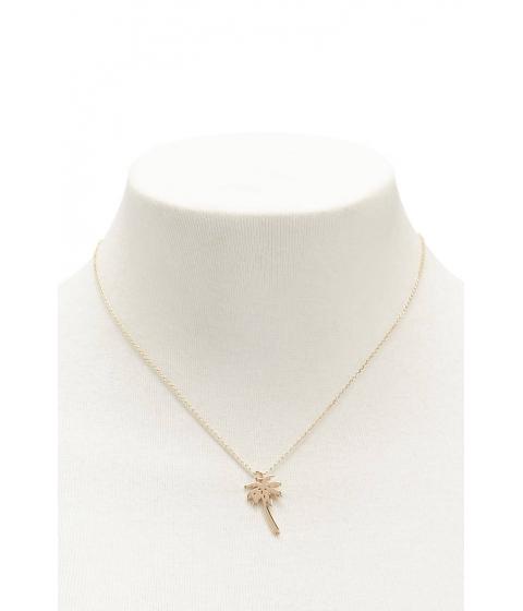 Bijuterii Femei Forever21 Palm Tree Necklace GOLD