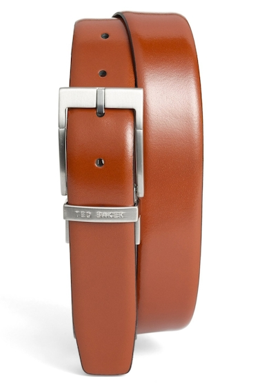 Accesorii Barbati Ted Baker London Connary Reversible Leather Belt TAN