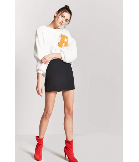 Imbracaminte Femei Forever21 Micro-Ribbed Mini Skirt BLACK