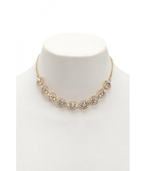 Bijuterii Femei Forever21 Rhinestone Statement Necklace GOLDCLEAR