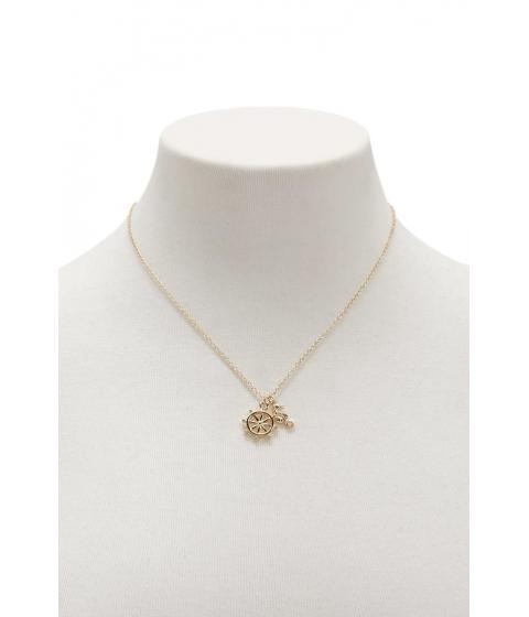 Bijuterii Femei Forever21 Nautical Charm Necklace GOLD