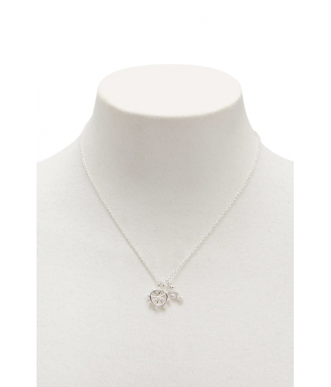 Bijuterii Femei Forever21 Nautical Charm Necklace SILVER