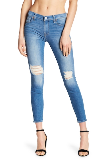 Imbracaminte Femei 7 For All Mankind The Ankle Gwenevere Skinny Jeans BRZYVSBY2