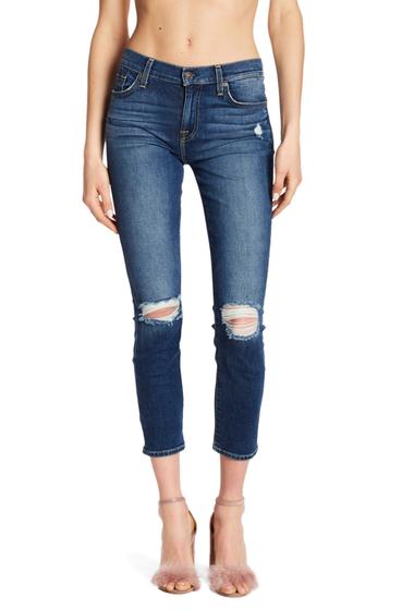 Imbracaminte Femei 7 For All Mankind Roxanne Slim Ankle Jeans MEDVTGBRZ2