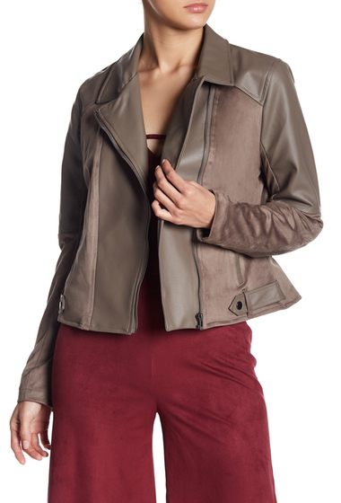 Imbracaminte Femei BB Dakota Keaton Faux Leather Jacket FALCON BRO