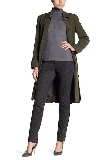Imbracaminte Femei Insight Apparel Plaid Scuba Ankle Pants BURGUNDY PLAID