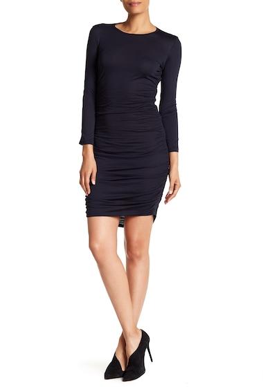 Imbracaminte Femei Theory Ruched Long Sleeve Mini Dress DEEP NAVY