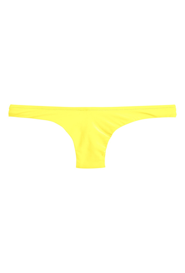 Imbracaminte Femei J Crew JCrew Lowrider Bikini Bottoms BRIGHT CITRON