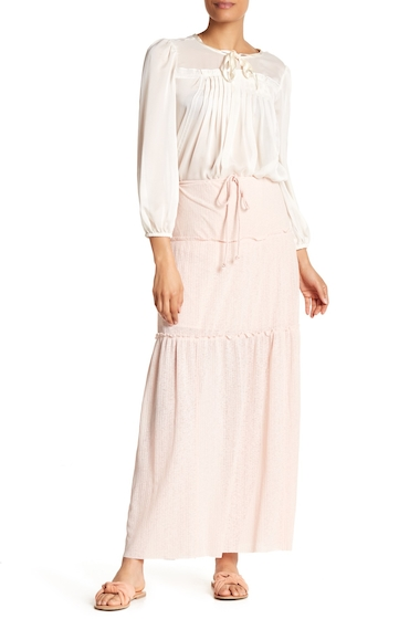 Imbracaminte Femei See by Chloe Tiered Skirt SILVER PINK