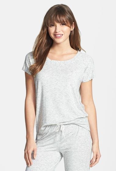 Imbracaminte Femei DKNY Citi Essentials Tee LT GREY
