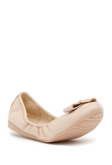 Incaltaminte Femei Cole Haan Emory Bow Ballet II Flat NUDE LEATH