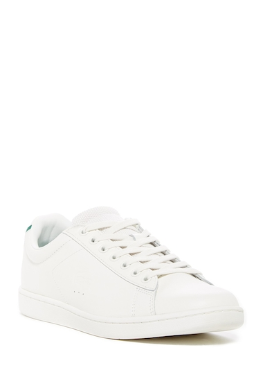 Incaltaminte Barbati Lacoste Carnaby Evo 117 1 Leather Sneaker OFF WHITE