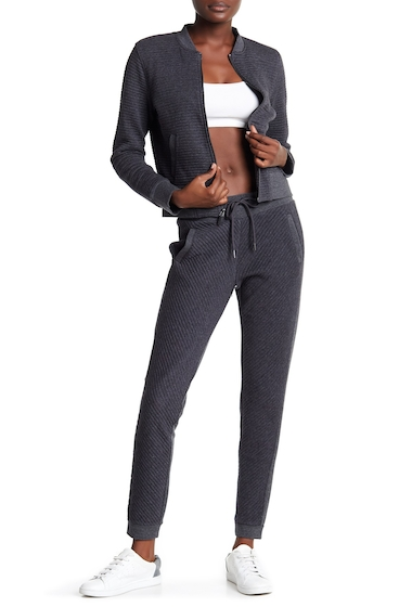 Imbracaminte Femei Marc New York Spliced Ribbed Joggers CHARCOAL H