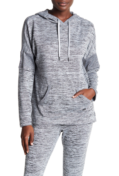 Imbracaminte Femei Marc New York Hooded Rib Panel Sweater GREY
