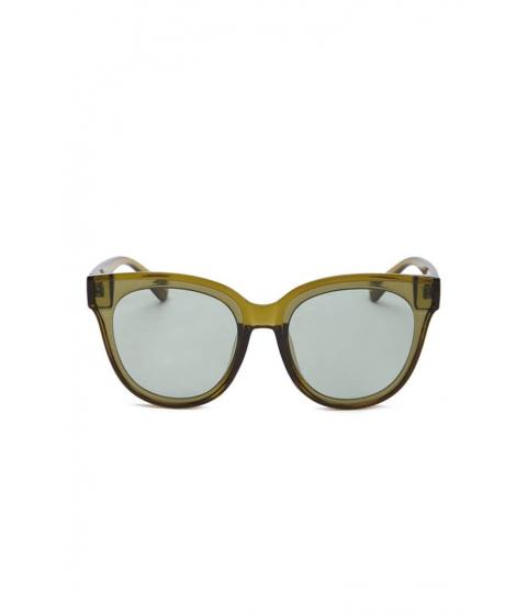 Ochelari Femei Forever21 Square Plastic Sunglasses OLIVEOLIVE
