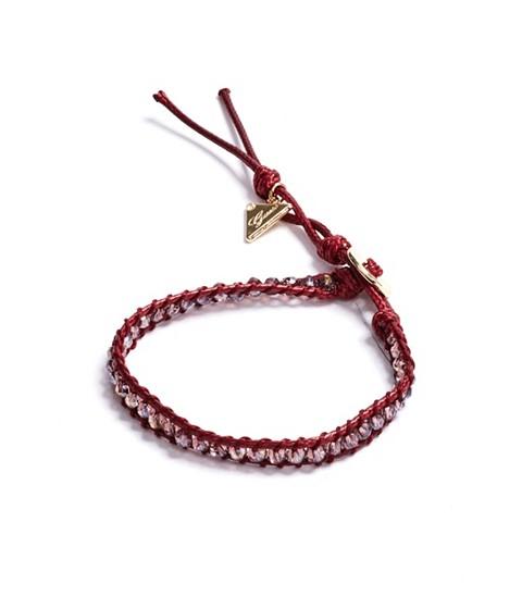 Bijuterii Femei GUESS Red Beaded Friendship Bracelet red